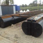 nowe pływaki modułowe do łodzi wielokadłubowych katamarany