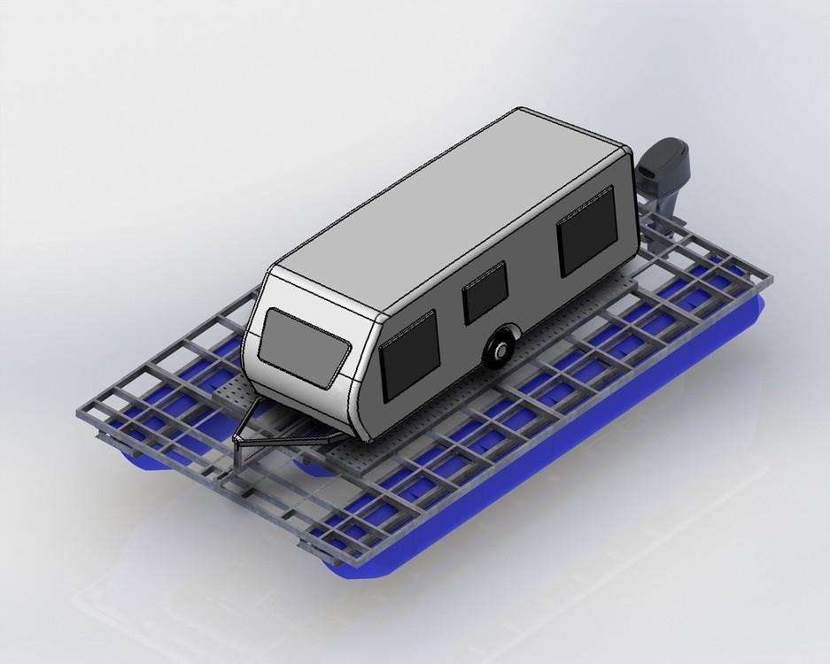 Platforma kamperowa