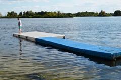 pontony pływające