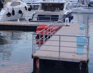 pontony, pomost pływający