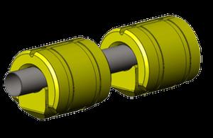 Pływaki rurociągu 420-650 dostosowane do rury Ø400