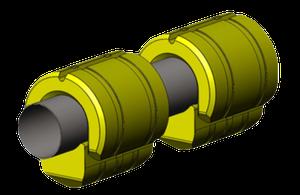 Pływaki rurociągu 420-650 dostosowane do rury Ø650