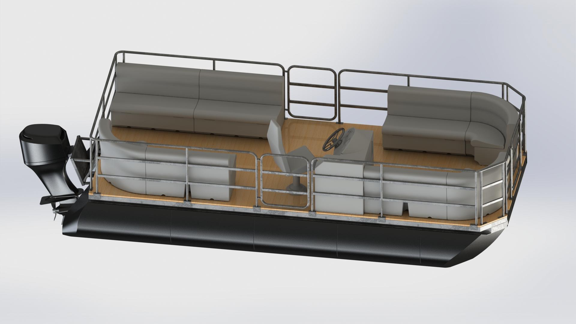 Gotowe łodzie pontonowe